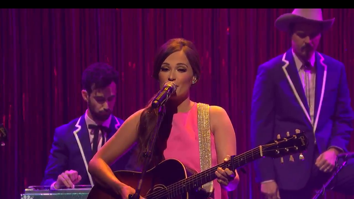 See Kacey Musgraves Debut Humorous 'Family Is Family'