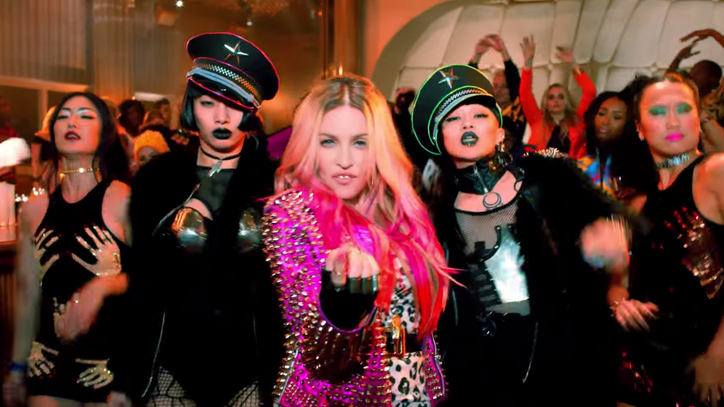 Madonna Nabs Kanye, Beyonce, Nicki Minaj for 'Bitch I'm Madonna' Video
