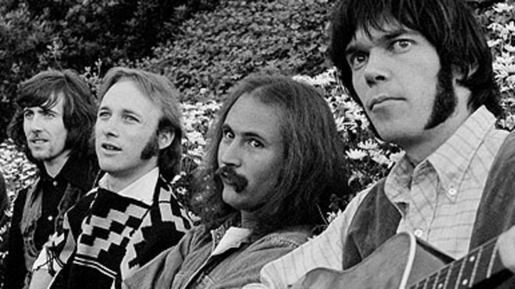 Crosby, Stills, Nash & Young Enchant London Audience in 1970