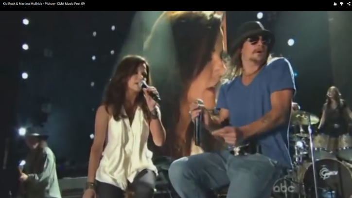 Flashback: Martina McBride Snaps 'Picture' With Kid Rock
