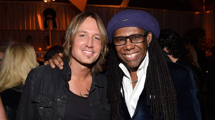 Keith Urban Records New Music With Chic's Nile Rodgers