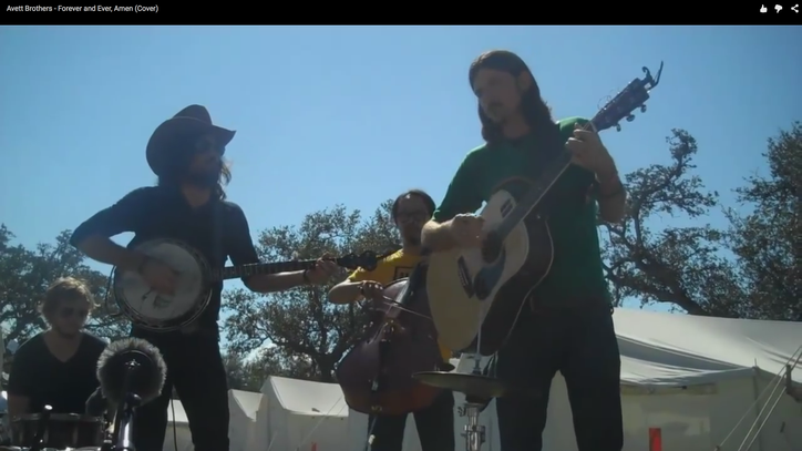 Flashback: The Avett Brothers Cover 'Forever and Ever, Amen'