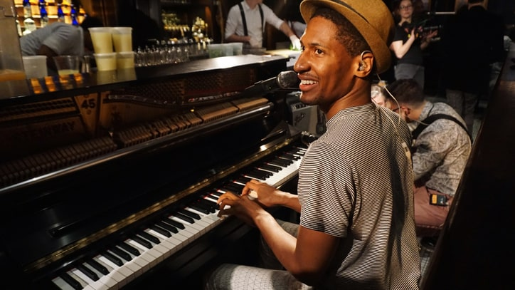 'Colbert' Bandleader Jon Batiste Goes Rogue at New York Residency