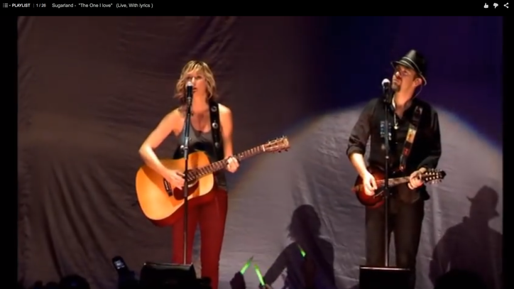 Flashback: See Sugarland Cover R.E.M.'s 'The One I Love'