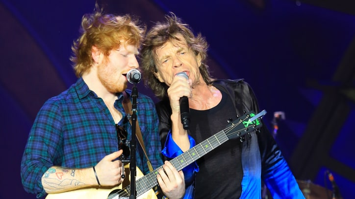 See Rolling Stones Perform 'Beast of Burden' With Ed Sheeran