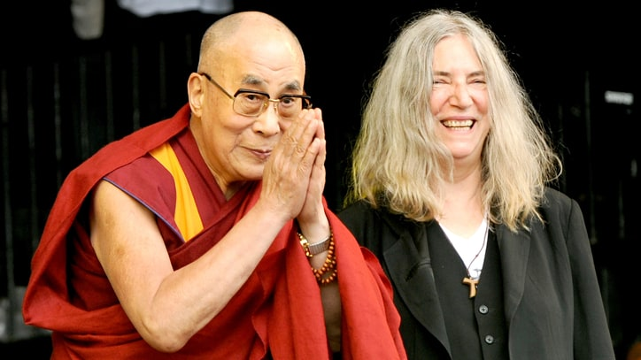 Watch Patti Smith Bring Out Dalai Lama at Glastonbury