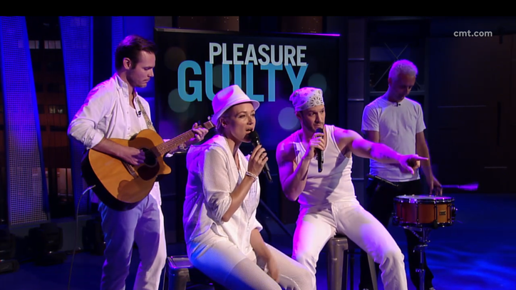 See Jewel and Josh Wolf Cover 'Guilty Pleasure' Backstreet Boys Song