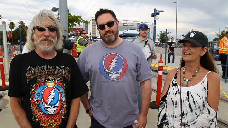 Watch the Scene From Grateful Dead's First 'Fare Thee Well' Show