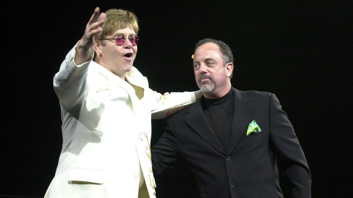 Flashback: Billy Joel and Elton John Duet on 'Bennie and the Jets'
