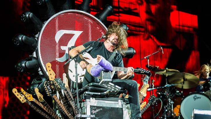 Foo Fighters Celebrate 20th Anniversary at All-Star Washington D.C. Gig