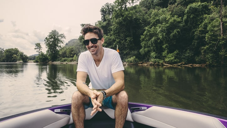 Boat Life: See Photos of Jake Owen on a Wakeboarding Excursion