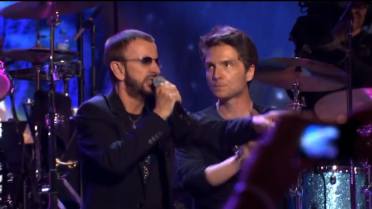 Flashback: See Ringo Starr Lead All-Star Nashville Jam