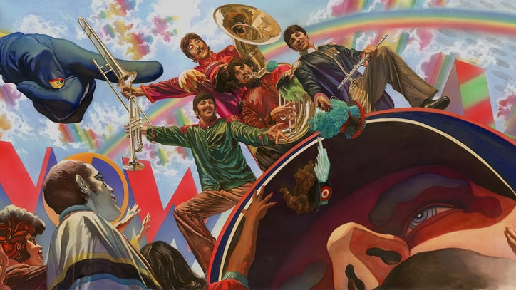 See Comic Book Artist Alex Ross' Official Beatles Artwork