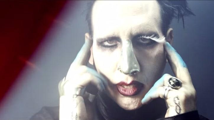 Watch Marilyn Manson's Creepy 'Third Day of a Seven Day Binge' Video
