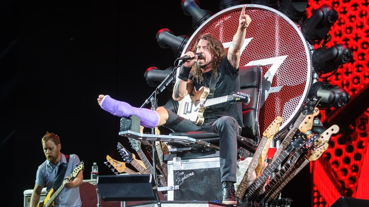 Dave Grohl Gives Leg Update: 'It Could Have Been Worse'