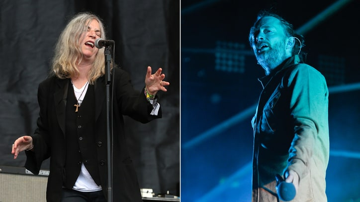 Thom Yorke, Patti Smith, Flea Unite for Climate Change Concert