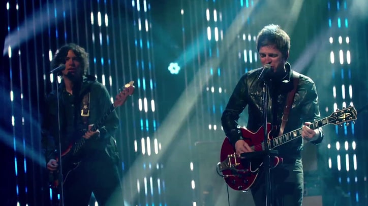 Noel Gallagher Chronicles Tour in 'Lock All the Doors' Video