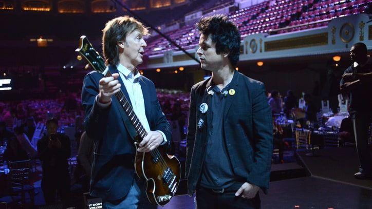 Watch Paul McCartney's Backstage Antics at Rock Hall Ceremony