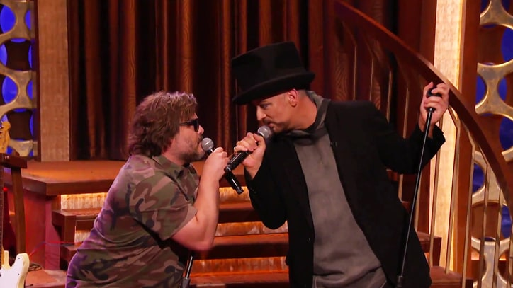 Watch Boy George, Jack Black, Doors' Robby Krieger on 'Conan'