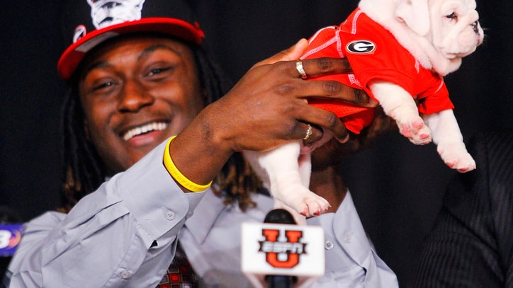 Baby Gators, Bulldogs and Ballcaps: College Commitments Get Bizarre