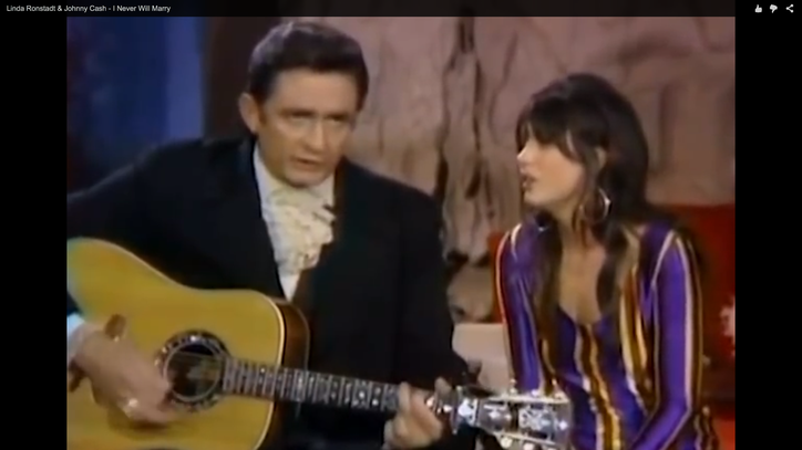 Flashback: See Linda Ronstadt's Heartbreaking Duet With Johnny Cash