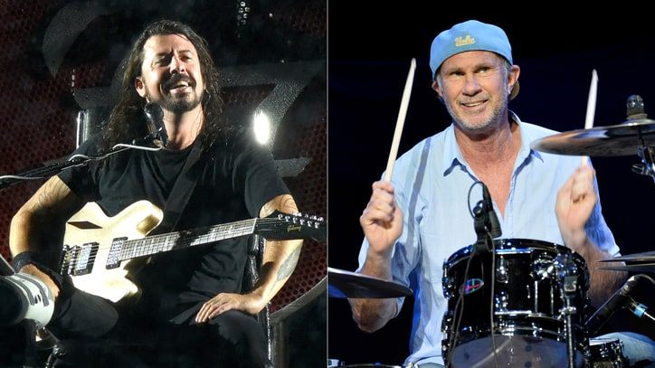 Watch RHCP's Chad Smith Join Foo Fighters for Faces Cover