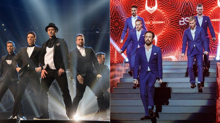 Backstreet Boys, 'NSync Will Team for 'Zombie Western' Asylum Film