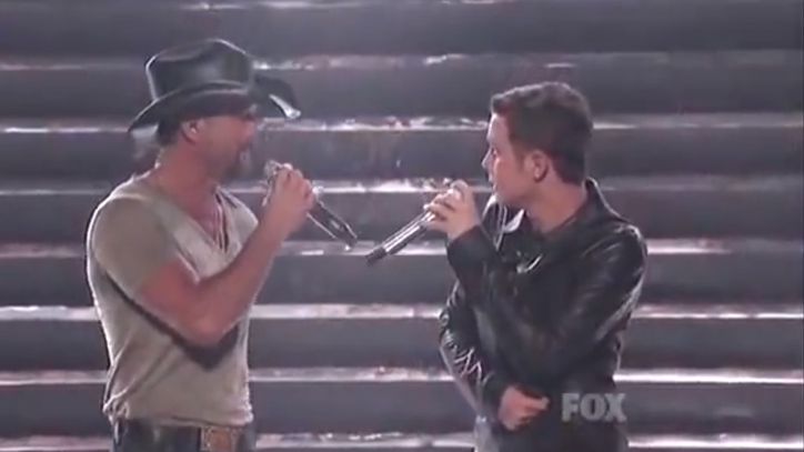 Flashback: See Tim McGraw and Scotty McCreery Sing 'Dying'