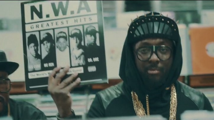Black Eyed Peas Go Retro in Hip-Hop-Celebrating 'Yesterday' Video