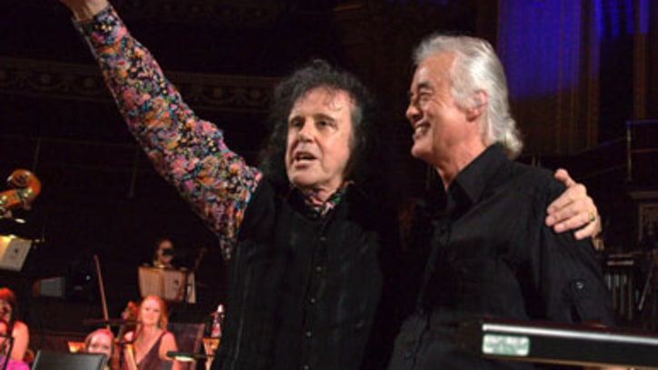 Jimmy Page Stuns Crowd With Surprise Appearance at Donovan Show