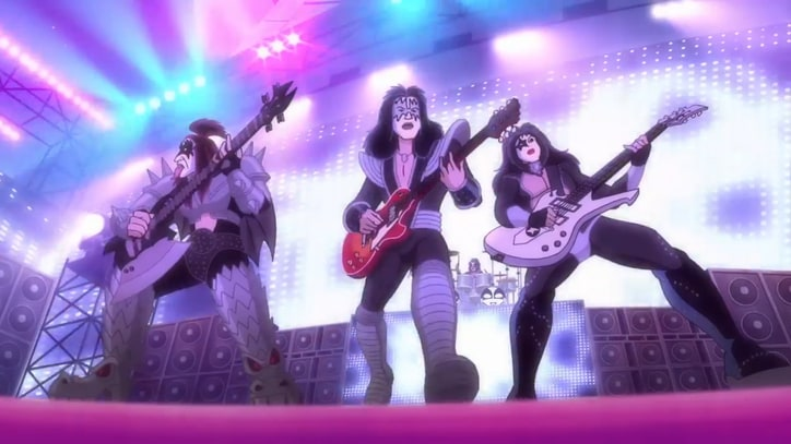 See Kiss Rock Out for Scooby-Doo Gang, Floating Evil Head
