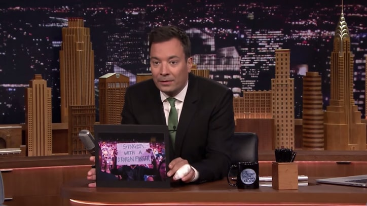 Fallon Explains Hilarious U2 Stage Cameo: 'It Almost Didn't Happen'