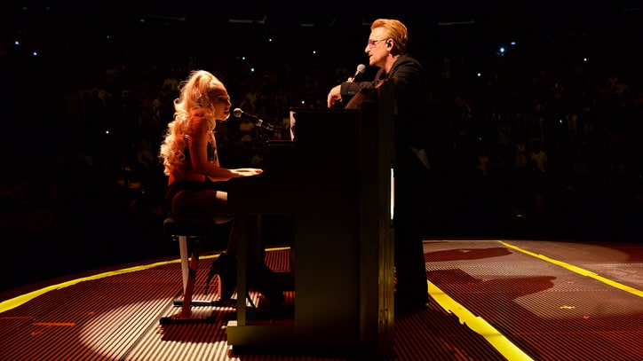 Watch Lady Gaga Make Surprise Appearance With U2 at MSG