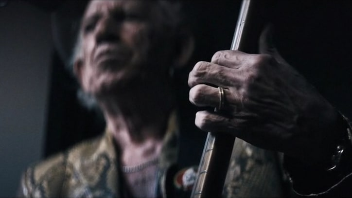Keith Richards Trades Stadiums for Studios in New 'Trouble' Video
