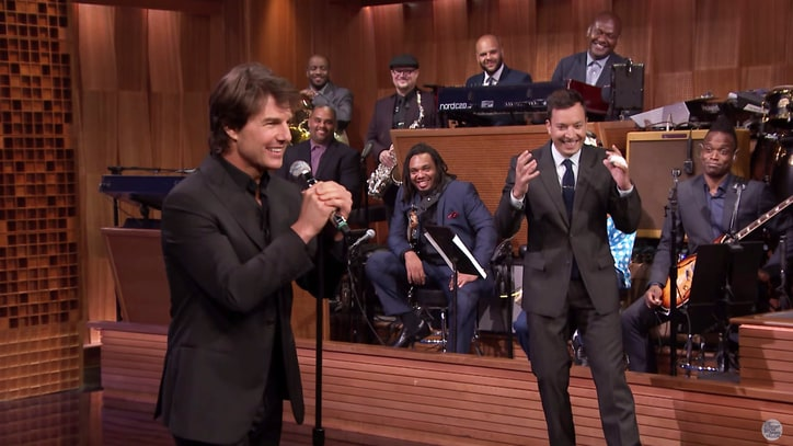 Watch Tom Cruise Channel Meat Loaf, the Weeknd in 'Lip Sync Battle'