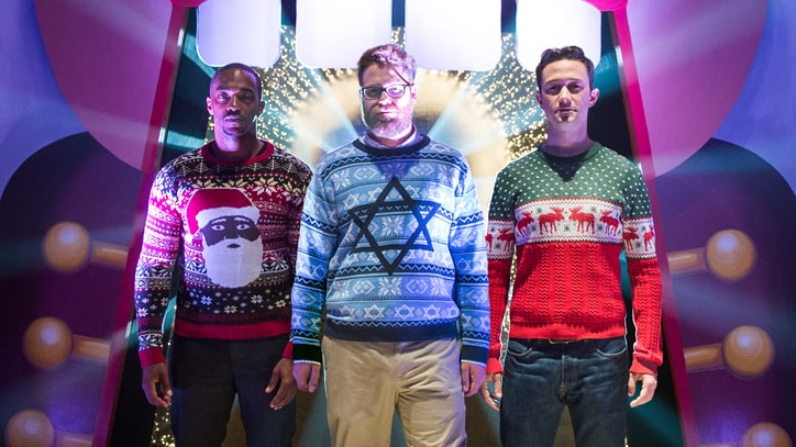 Watch Seth Rogen Ruin Christmas in 'Night Before' Redband Trailer