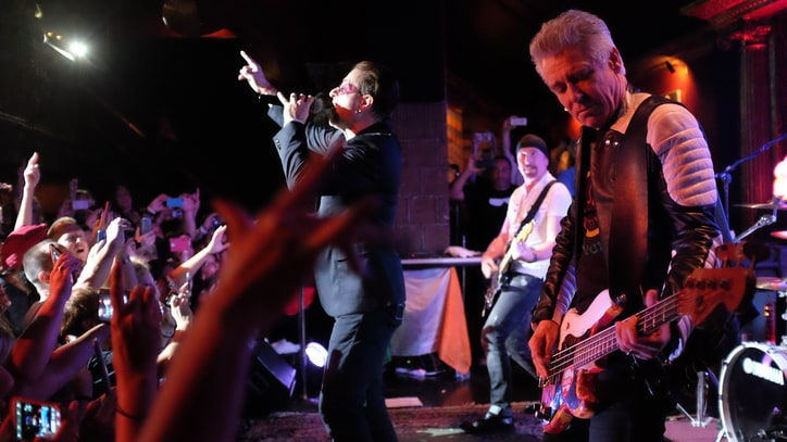 Watch the Edge, Adam Clayton's Shock Performance With U2 Cover Band