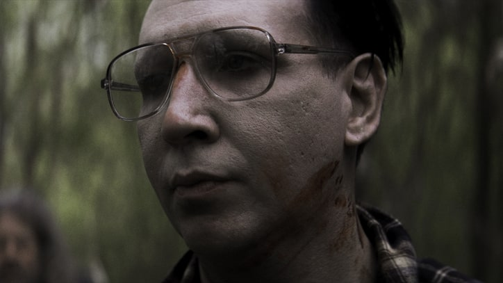 See Marilyn Manson Play Native American Hit Man in Movie Trailer