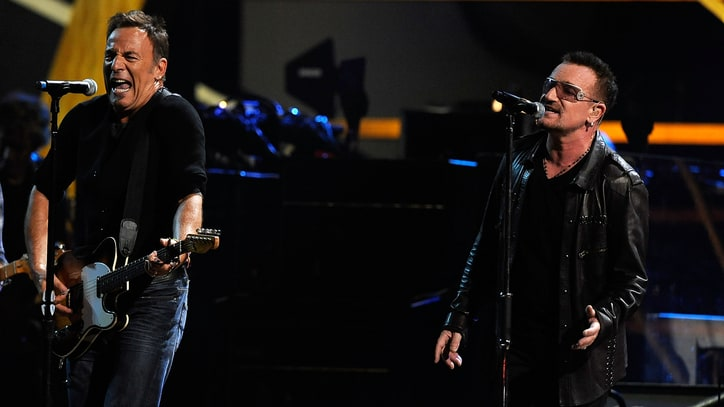 Watch Bruce Springsteen's Surprise Performance With U2