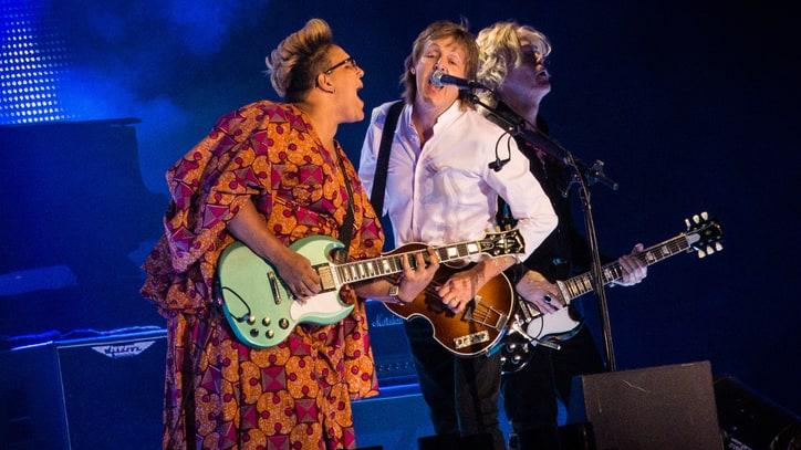 Watch Paul McCartney Perform 'Get Back' With Alabama Shakes' Brittany Howard