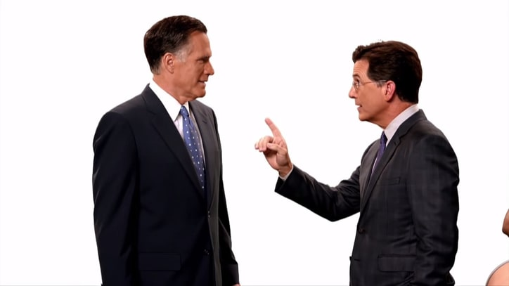 Watch Mitt Romney Demand Pancakes in Colbert's 'Late Show' Promo