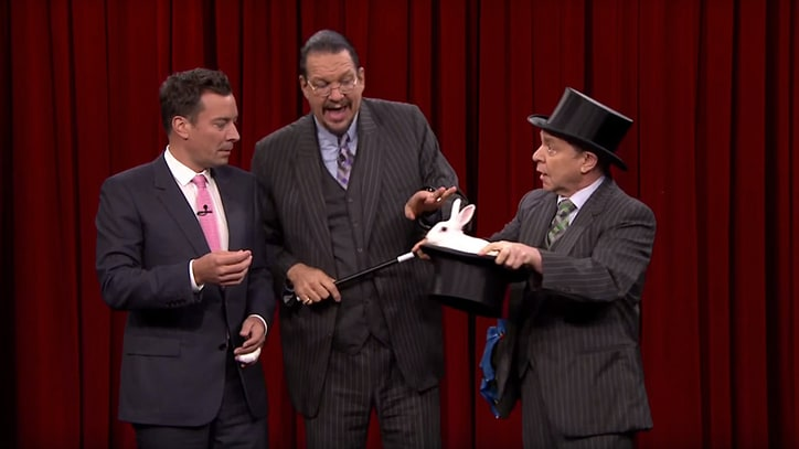 Watch Penn and Teller Pull Rabbit From Hat on 'Jimmy Fallon'