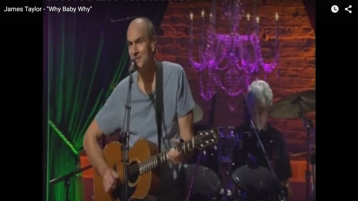 Flashback: James Taylor Covers George Jones' 'Why Baby Why'