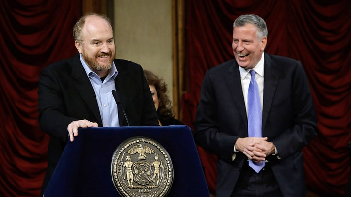 Louis C.K. Shadowing New York Mayor for Potential Project
