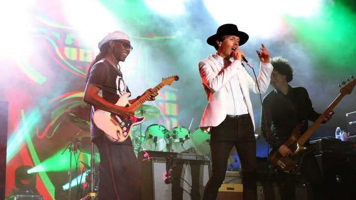 Beck Brings Funky Exuberance to Nile Rodgers' FOLD Festival