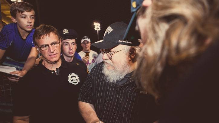 George R.R. Martin Goes Out to the Ballgame