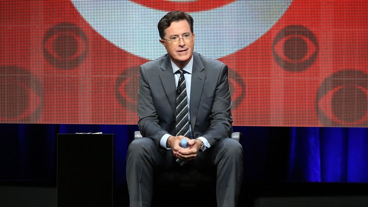 Stephen Colbert Talks Letterman, Trump and New 'Late Show'