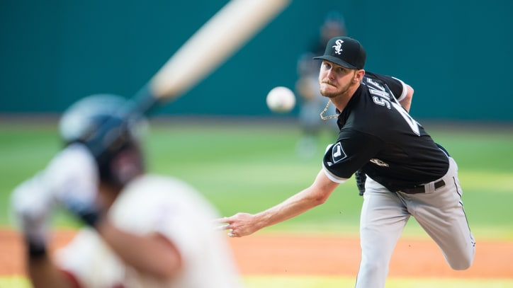 Chris Sale Is Not Ready for His Close-Up