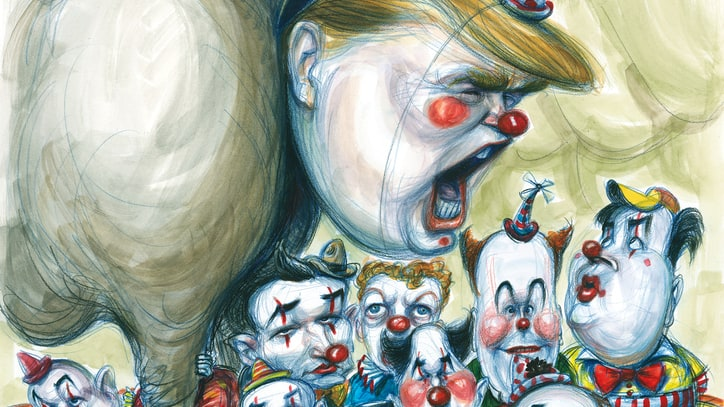 Inside the GOP Clown Car