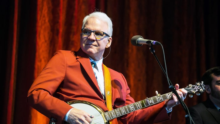 Steve Martin to Receive Prestigious Bluegrass Award
